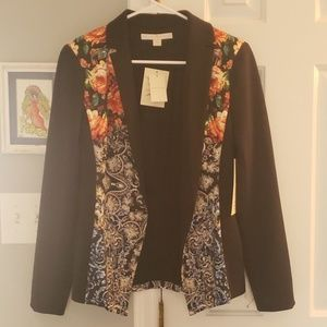 Brand new sexy floral blazer by Boston Proper